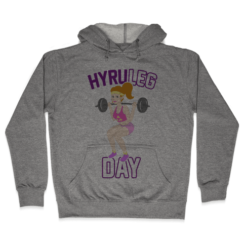 HyruLEG DAY Hooded Sweatshirt