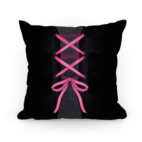 Laced up Corset Pillow