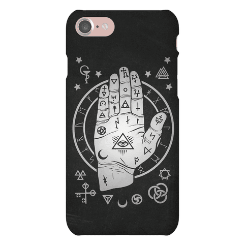Occult Hand Phone Case