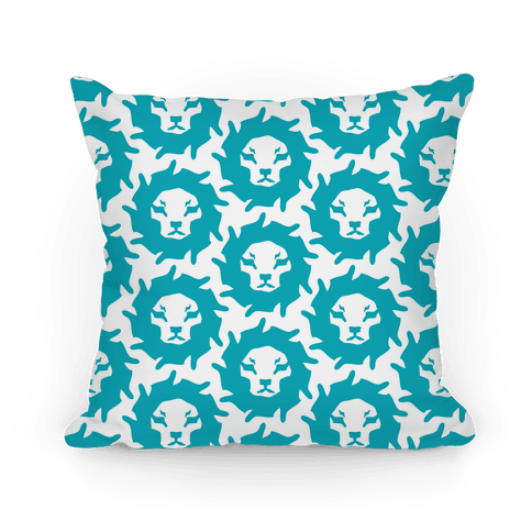 Lion Pattern (Blue)