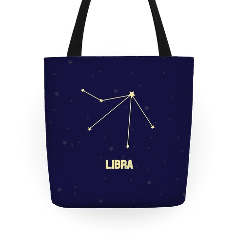 Libra Astrology Sign Tote