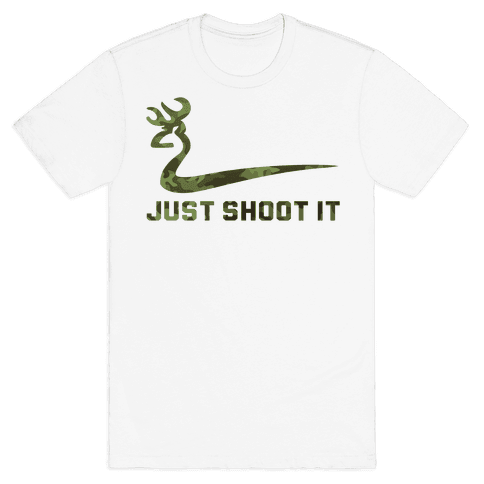 Just Shoot It Mens T-Shirt