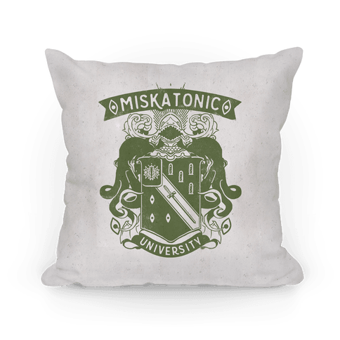 Miskatonic University Pillow