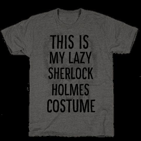 Lazy Sherlock Holmes Costume