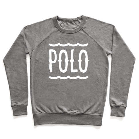 marco polo polo crewneck sweatshirt lookhuman. Black Bedroom Furniture Sets. Home Design Ideas