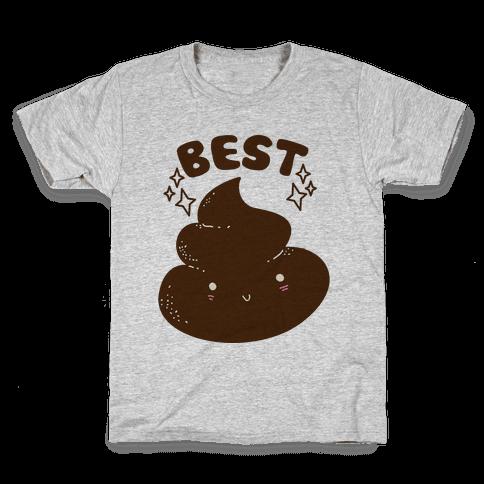 Best Friends TP & Poo (Poo Half) Kids T-Shirt
