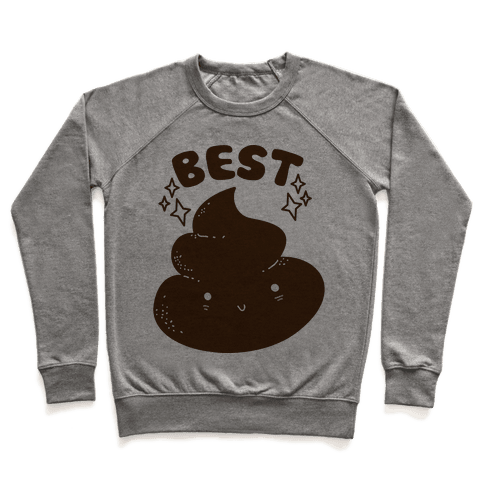 Best Friends TP & Poo (Poo Half) Pullover