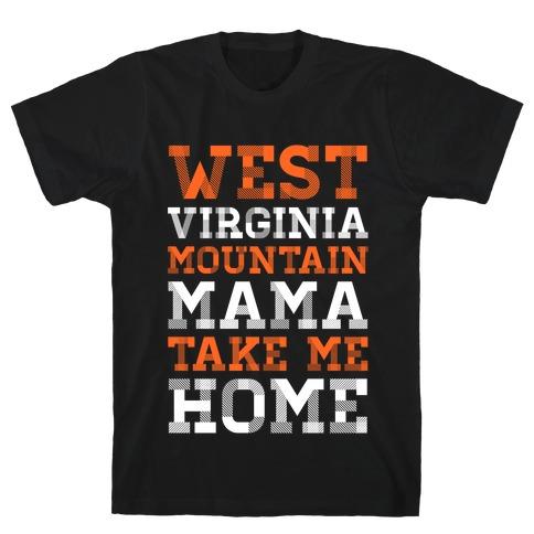 West Virginia, Mountain Mama T-Shirt