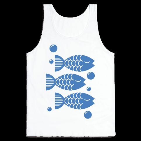 Geometric Fish Tank Top