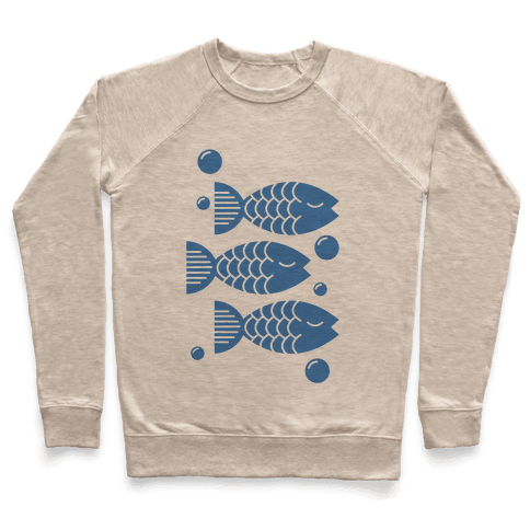 Geometric Fish Pullover