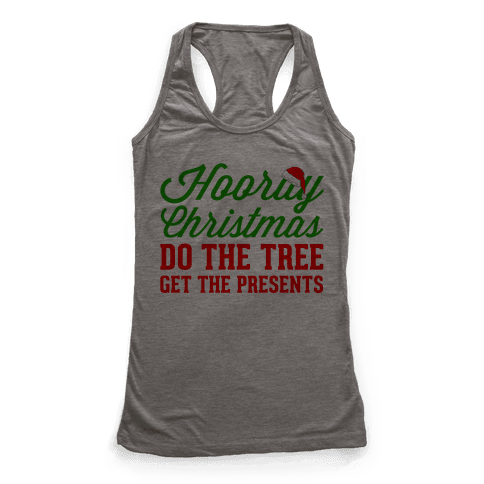 Hooray Christmas Racerback Tank Top