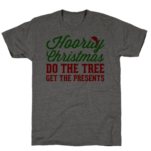 Hooray Christmas Mens T-Shirt
