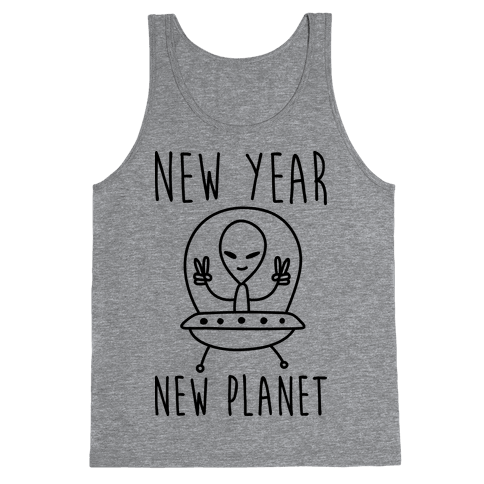 New Year New Planet Tank Top
