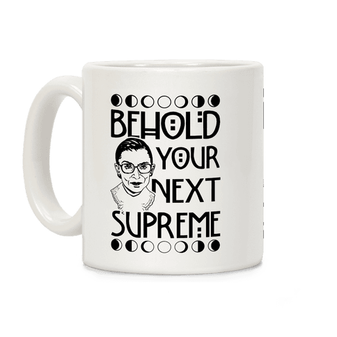Behold Your Next Supreme Coffee Mug
