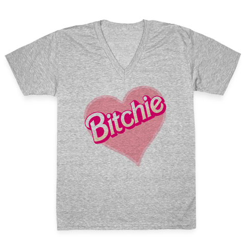 Bitchie V-Neck Tee Shirt