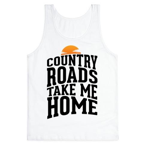 Country Roads, Take Me Home Tank Top