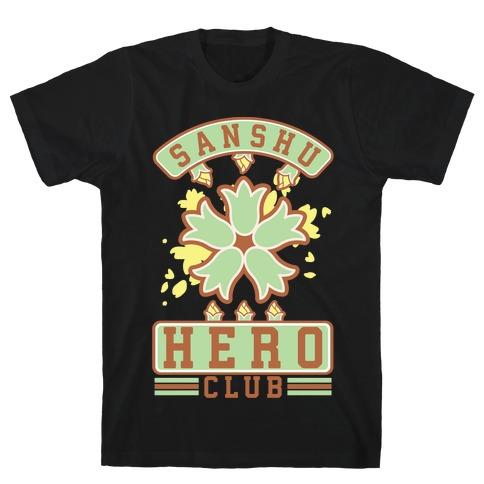 Sanshu Hero Club Itsuki Mens T-Shirt