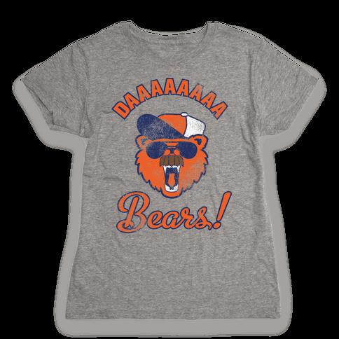 Da Bears Vintage Womens T-Shirt