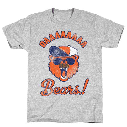 Da Bears Vintage Mens T-Shirt