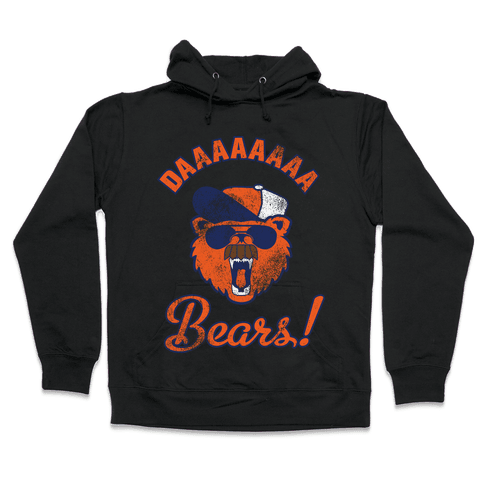 Da Bears Vintage Hooded Sweatshirt