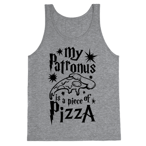 My Patronus is a Piece of Pizza Tank Top