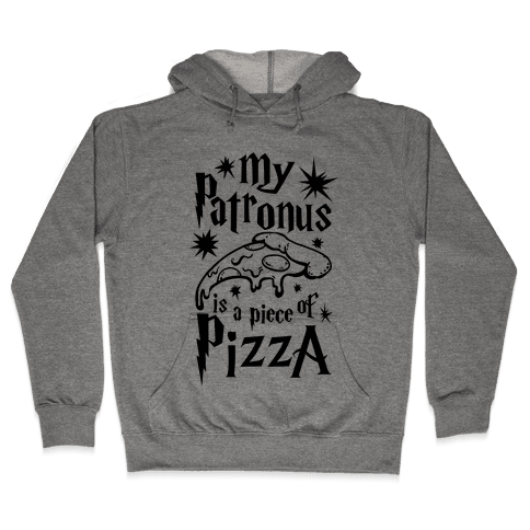 My Patronus is a Piece of Pizza Hooded Sweatshirt