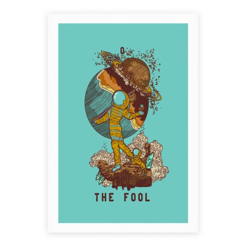 The Fool in Space Poster