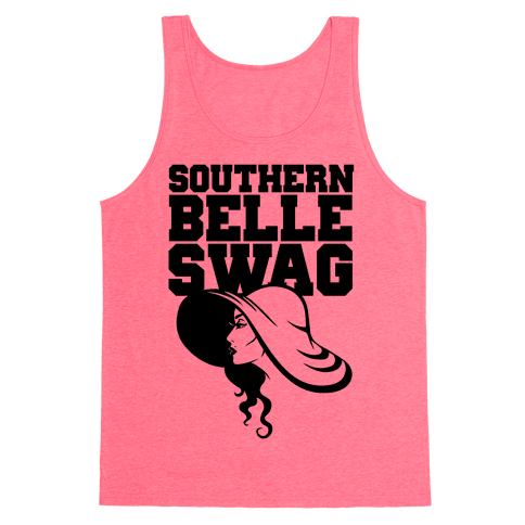 Southern Belle Swag Tank Top