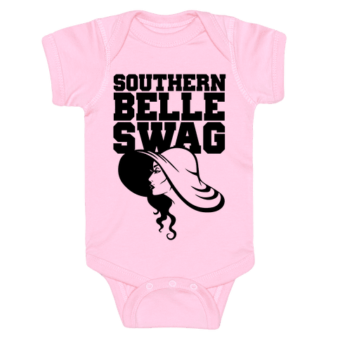 Southern Belle Swag Baby Onesy