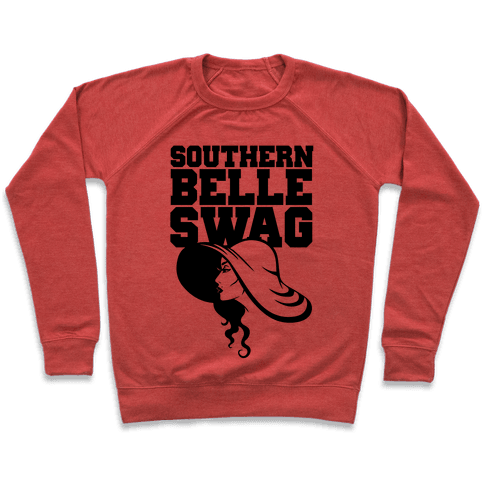 Southern Belle Swag Pullover