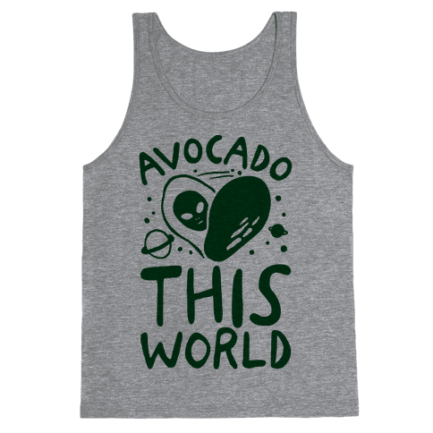 Avocado This World Tank Top
