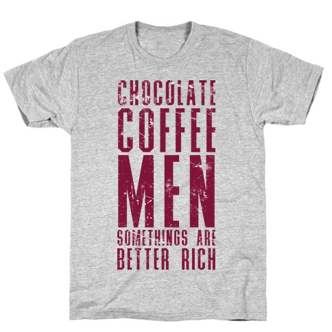 Chocolate Coffee Men Mens T-Shirt