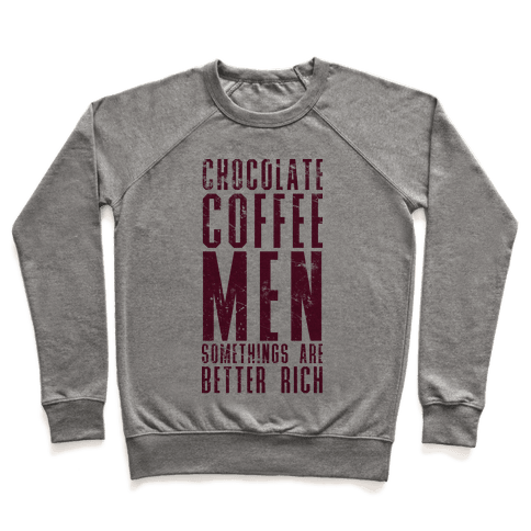 Chocolate Coffee Men Pullover