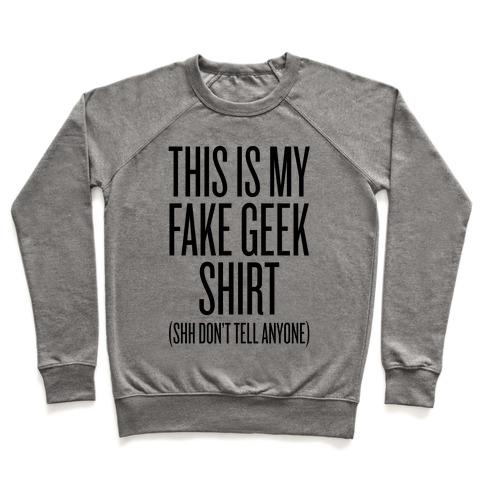 geek clothing sweatshirt