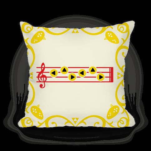 Zelda's Lullaby Throw Pillow | LookHUMAN
