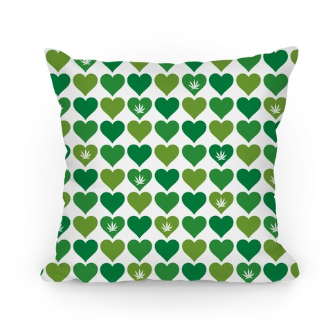 Weed Heart Tote Pillow