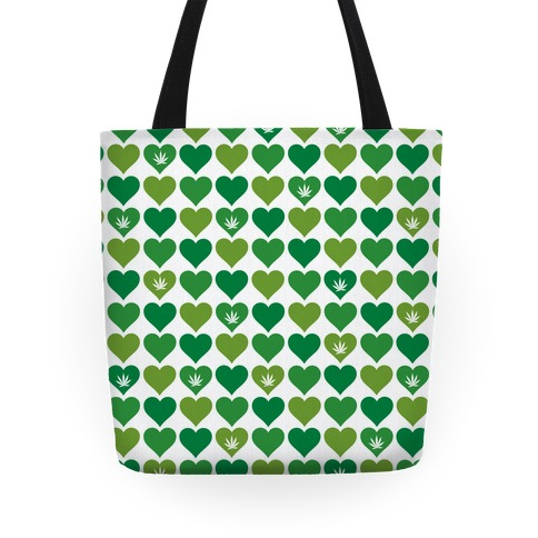 Weed Heart Tote Tote