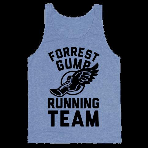 Forrest Gump Running Team Tank Top