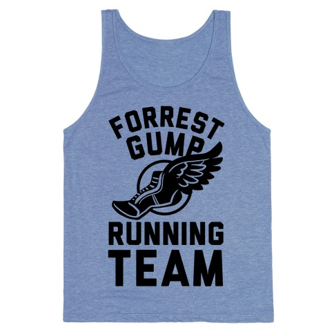 Forrest Gump Running Team Tank Top