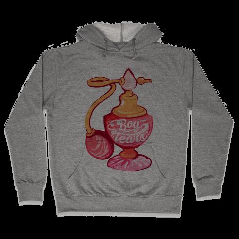 Boy Tears Perfume Hooded Sweatshirt