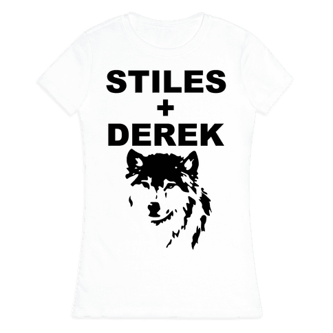 Stiles + Derek Womens T-Shirt
