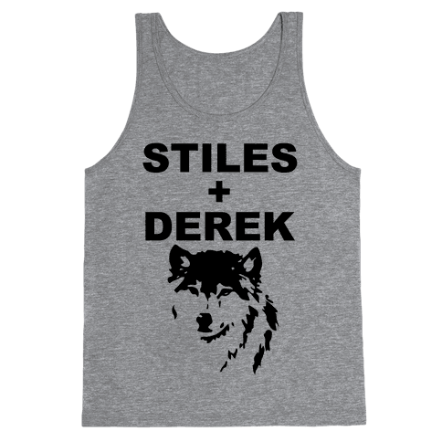 Stiles + Derek Tank Top