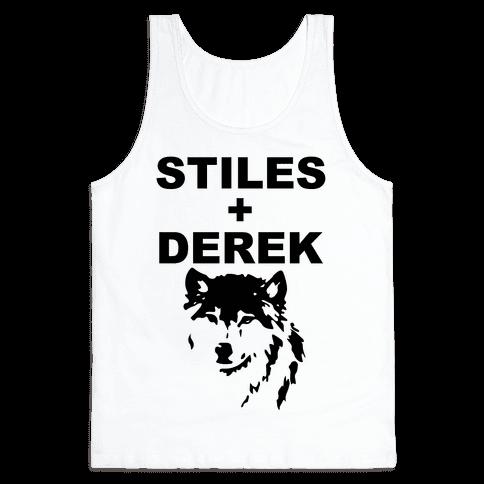 Stiles + Derek Tank Top