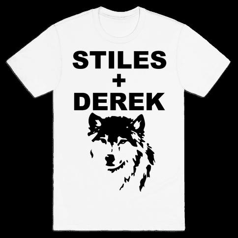 Stiles + Derek Mens T-Shirt