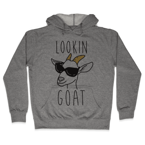 Lookin Goat Hooded Sweatshirt