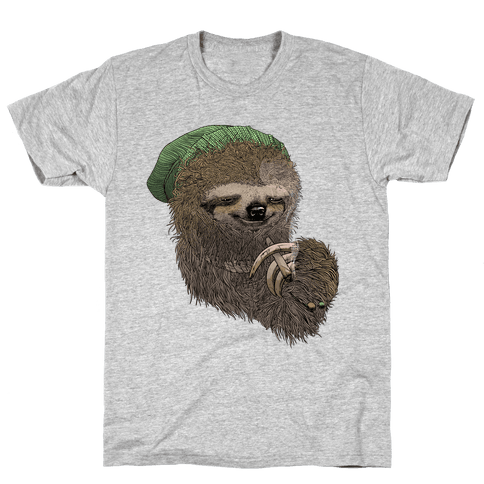 Dank Sloth Mens T-Shirt