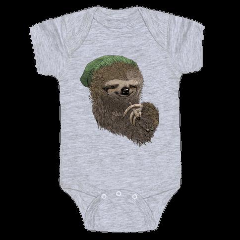 Dank Sloth Baby Onesy