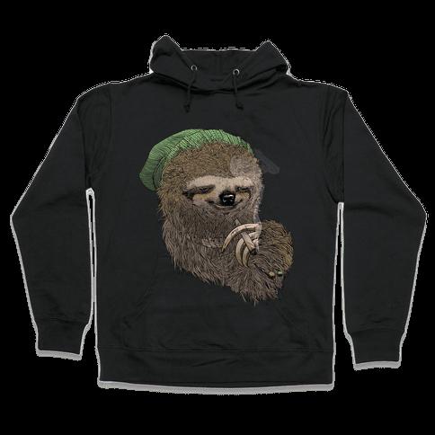 Dank Sloth Hooded Sweatshirt