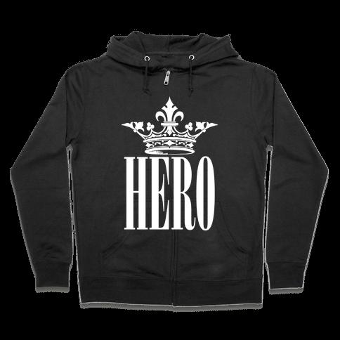 Hero Zip Hoodie