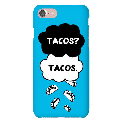 The Fault In Our Tacos Phone Case